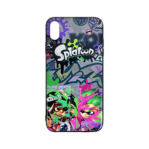LEWJ Splatoon Phone Case Compatible with iPhone Xs Max