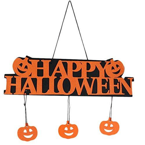 Dosige - Puerta de Halloween colgante decorada accesorios para puerta colgante para bar o restaurante
