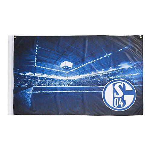 FC Schalke 04 Zimmerfahne /Hissfahne/ Hissflagge