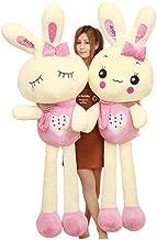 Rabbit Plush Toy Doll Doll White Rabbit Doll Pillow Cute Sleeping Birthday Gift (Color : 2, Size : 120cm)