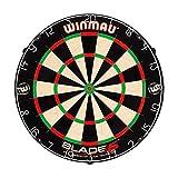 [page_title]-roleo Winmau Dartscheibe Dartboard Bristle Board Blade 5 inkl. 1 Satz Ersatzflys Darts