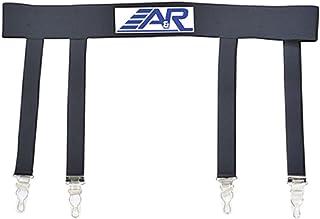 A&R Pro Heavy Duty Ice Hockey Sock Garter Belt Reinforced Stitching Holds Socks