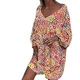 Lialbert - Blusa de Verano para Mujer, túnica, Ropa de Verano, Vestido de...