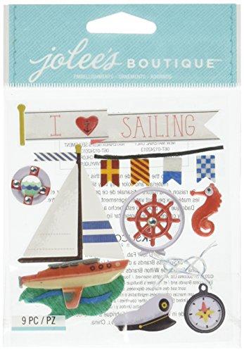 Jolee' S Boutique Dimensional Stickers-Sailing