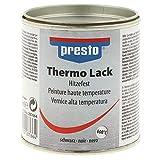 PRESTO Thermo-Lack Schwarz matt 250ml Hitzefest...