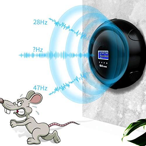 lili Ultraschall-leistungsstarkes Mausabwehrmittel, 6 Lautsprecher Decken Eine Große Fläche Mit Intelligenter Frequenzumwandlung Ab Und Sind Multifunktional Einstellbar