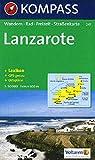 Kompass Karten, Lanzarote: Wandelkaart 1:50 000 (KOMPASS-Wanderkarten, Band 241) - KOMPASS-Karten GmbH