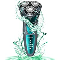 FlySpur Rechargeable Wet & Dry Electric Rotary Shaver
