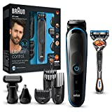 Braun 9-in-1 Multi-Grooming-Kit MGK3085, regolabarba e...