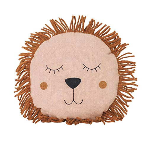 Ferm Living Safari Lion Cushion Colour: Ferm Natural