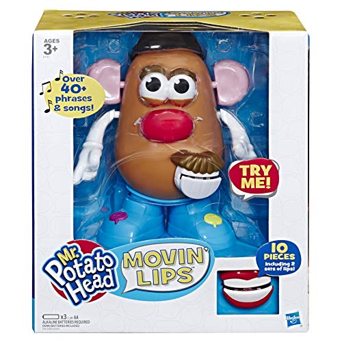 Playskool Mr Potato Head Movin' Lips Electronic Interactive Talking Toy for Kids Aged 3 and Up