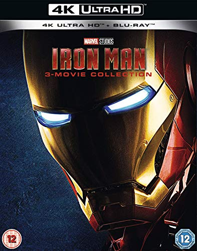 Iron Man Trilogy [Blu-ray]