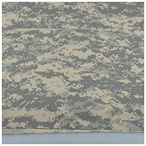 ACU Digital Camouflage Cotton Blend Army Military Fabric Cloth