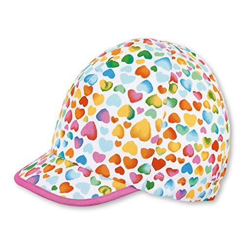 Sterntaler Baby-Mädchen Schirmmütze Mütze, Weiß (Weiss 500), XXXX-Large (Herstellergröße: 47)