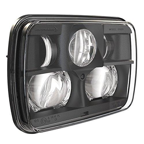 JW Speaker 8900-Ev2 12/24V Dot/Ece Non-HTD Black