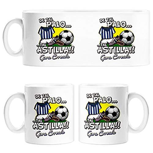 Diver Tazas Taza De Tal Palo Tal Astilla de la Real para Aficionado al fútbol - Cerámica