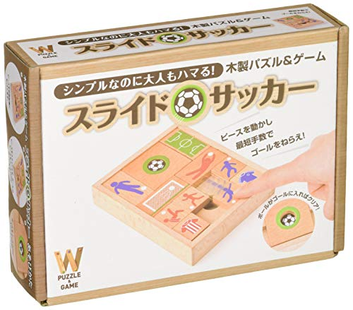 幻冬舎(Gentosha) 木製パズル&ゲーム スライドサッカー