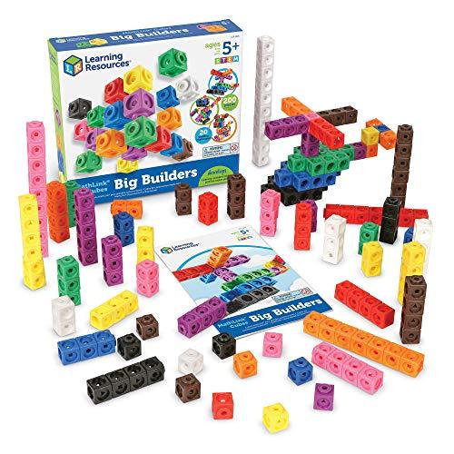 Learning Resources- Cubes de Construction MathLink, LER9291
