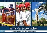 Im Tal der Zuckermuehlen - Kubas Weltkulturerbe Valle de los Ingenios (Wandkalender 2022 DIN A4 quer): Land und Leute im Naturparadies Valle de los Ingenios (Monatskalender, 14 Seiten )