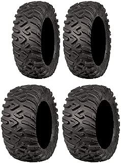Full set of ITP Terracross R/T X-D 25x8-12 and 25x10-12 (6ply) ATV Tires (4)