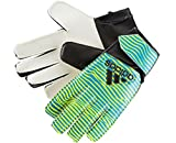Adidas Torwarthandschuhe X Junior Torwart Handschuhe Yellow/Blue AC5181, Größe:8