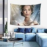Anna Karenina Tapiz para sala de estar, dormitorio, dormitorio, decoración para colgar en la pared, 152,4 x 101,6 cm