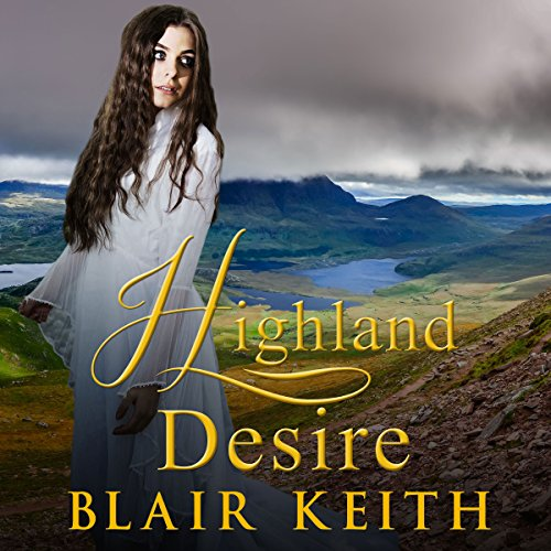 Highland Desire audiobook cover art