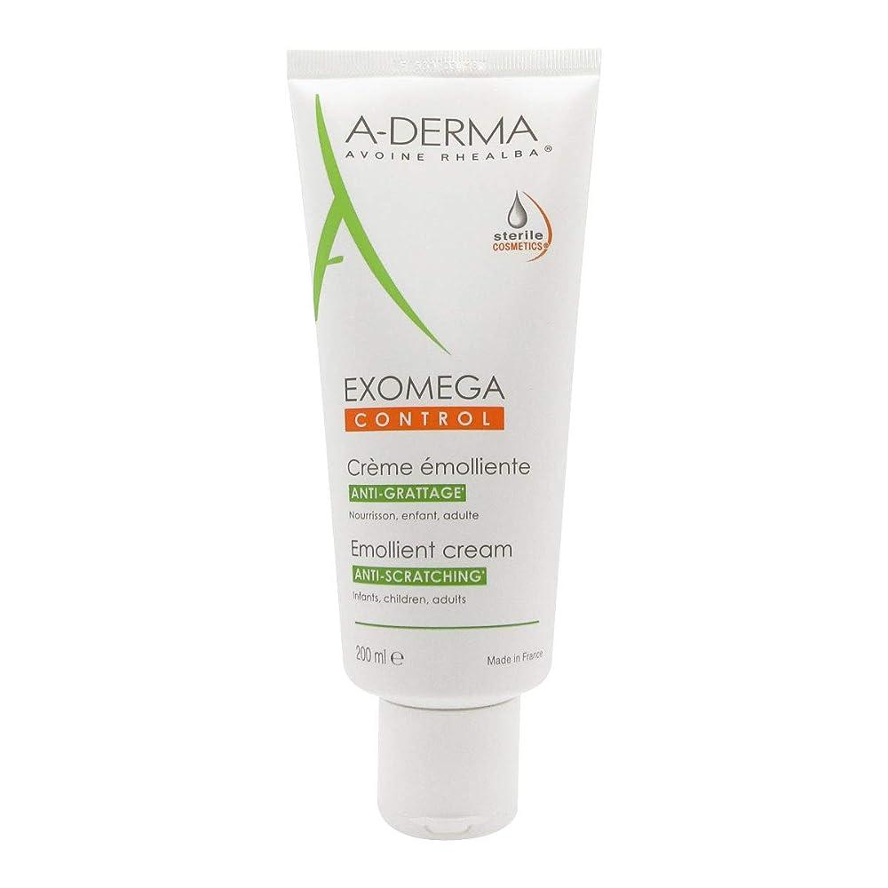レポートを書く無意味段落A-derma Exomega Control Emollient Cream 200ml [並行輸入品]