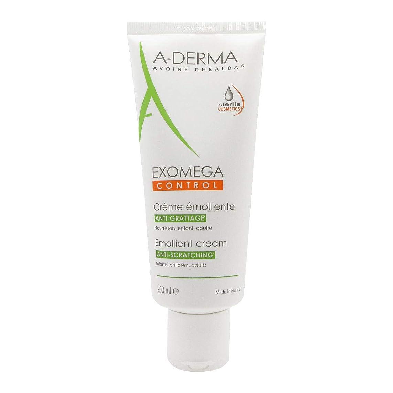 治す六統合A-derma Exomega Control Emollient Cream 200ml [並行輸入品]
