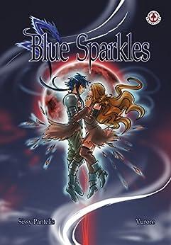 Blue Sparkles by [Sissy Pantelis]