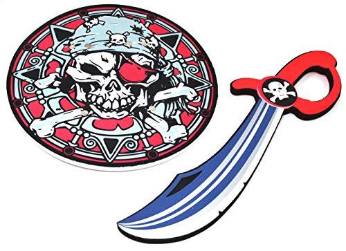 ARUNDEL SERVICES EU Espada y Escudo Espuma de plástico Espada Accesorio Caballero Juguete Escudo y Espada Guerrero Espada de Juguete Dragones
