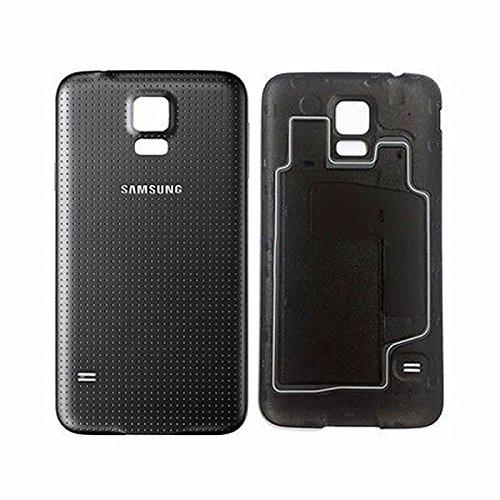 SPARFIX® - Coque Arrière Cache Batterie Capot Pour Samsung Galaxy S5 - Noir