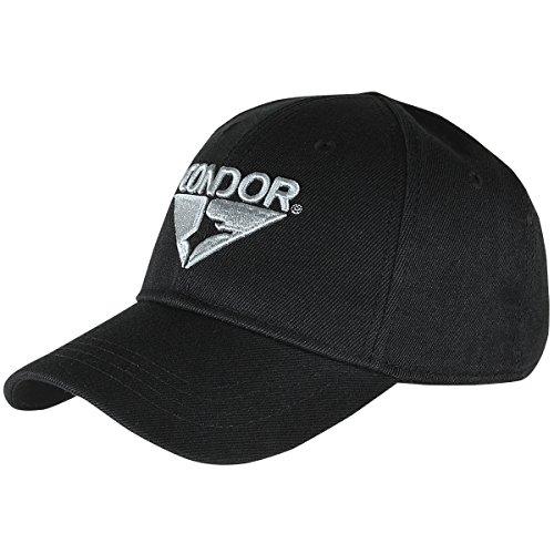 Condor Homme Signature Range Casquette avec visière Noir