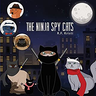 Ninja Spy Cats audiobook cover art