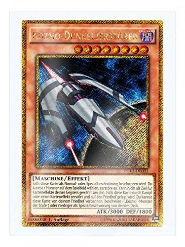 PGL3-DE031 Kozmo-Dunkelzerstörer 1. Auflage im Set mit original Gwindi Kartenschutzhülle