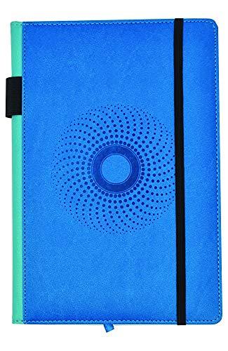 EJRange Cuaderno A5 forrado – Funda para cuadernos de piel sintética, tacto...