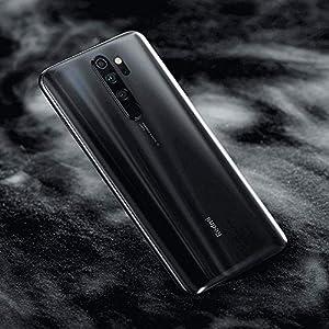 "Xiaomi Redmi Note 8 Pro Smartphone,6GB RAM 128GB ROM Mobilephone,Pantalla Completa de 6.53"",MTK Helio G90T Octa Core,4500mAh,Quad Cámara(64MP + 8MP + 2MP + 2MP) Versión Global (Gris)"