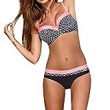 DAY8 Maillot de Bain 2 Pièces Femme Push Up Grande Taille Sexy Tankini Bikini...