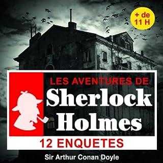 Couverture de 12 enquêtes de Sherlock Holmes - Les enquêtes de Sherlock Holmes