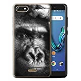 Stuff4 Phone Case for Wiko Tommy 3 Mono Zoo Animals