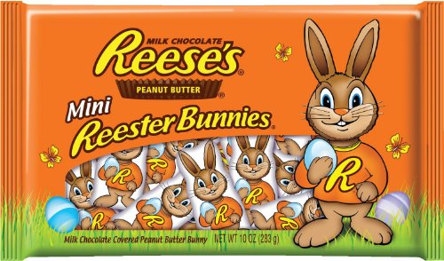 Reese's Easter Mini Peanut Butter Reester Bunnies
