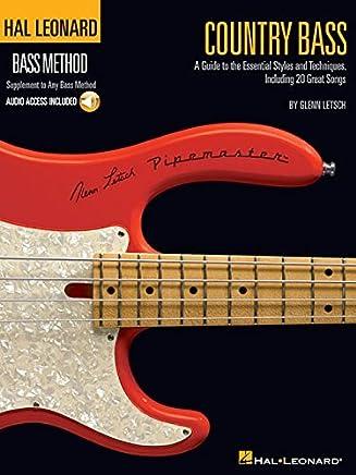 Country Bass Bk/Ao Hl Bass Method Supplement To Any Bass Method (Hal Leonard Bass Method) by Glenn Letsch(2007-12-01)