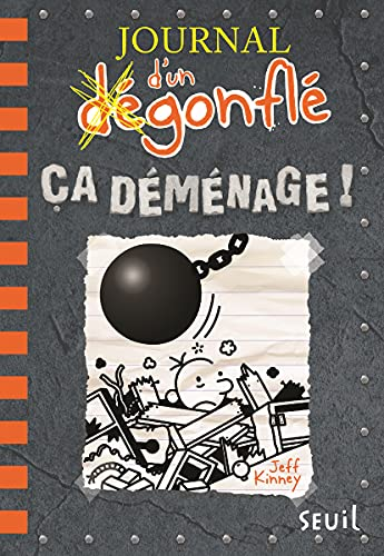 Journal d'un dégonflé - tome 14 Ca déménage !