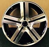 4 New Texas Edition 26x10 6x139.7 +25 Replica Wheels Black Machine Silverado Sierra Tahoe Yukon Suburban Escalade