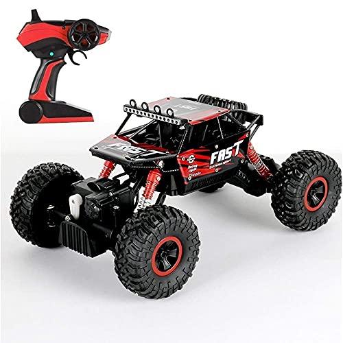 Coche de acrobacias de carreras eléctricas, coche RC de alta velocidad Bigfoot Crawler Buggy 1/18 Escala 4WD 2.4G Coche de control remoto Coche de carreras eléctrico Escalada Monster Truck Vehículo t