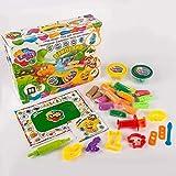 Juego de plastilina para modelar, 11007, juguete de dinoland, ideal para niños y niñas mayores de 3 años