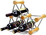 Botellero Estante Para Vino Independiente Soporte Para Estante Para Vino Gabinete De Metal De Acero Inoxidable Soporte Para Botella Organizador Encimera Para Barra De Hogar Libre Para Ensamblar