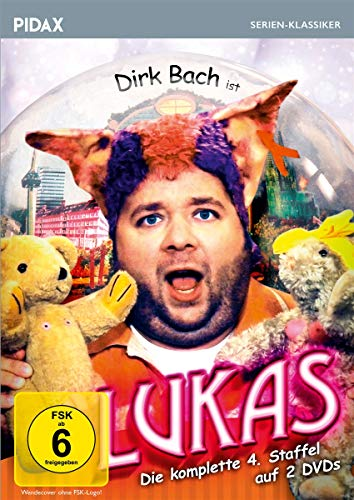 Lukas, Staffel 4 / Weitere 13 Folgen der Comedyserie mit Dirk Bach (Pidax Serien-Klassiker)
