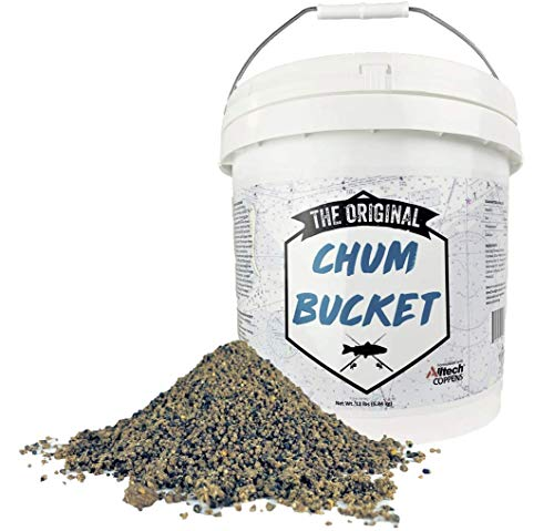 The Original Chum Bucket 12lb - Designed for Saltwater and Freshwater Fish - Triple Action Chum is...