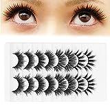 Pestañas hechas a mano, hechas de material de alta calidad Extiende tus pestañas y agranda tus ojos Pestañas postizas para maquillaje